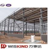 El tramo largo moderna estructura de acero de alta resistencia