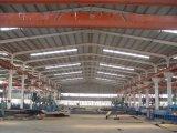 Het Pakhuis van het Metaal van de Structuur van het staal met de Deur van de Bekleding en van de Rol
