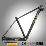 昇進の切断カラー19inchカーボンMountianの自転車フレーム29er MTB