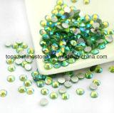 2018 a luz de venda a mais nova e quente - pedra de vidro verde de Preciosa da cópia do Rhinestone do reparo do Ab Beadhot (TP-Luz Ab verde)