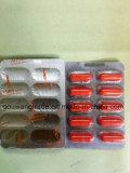 Pillules minces supplémentaires rouges de fines herbes normales de régime de capsule d'ab