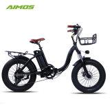 """Changzhou Aimos 20 """" vélo électrique pliable de matières grasses"""