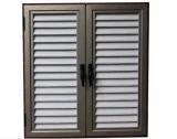 La rejilla de vidrio de ventana de la plaza de aluminio se utiliza para wc