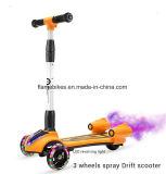 Новый стиль 3 Колеса Kick Детский музыкальный опрыскивания для скутера светодиодный дизайн рождественских подарков