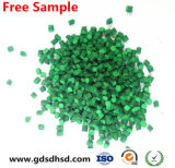 Couleur verte en plastique Masterbatch de matière première pour PE/PP réutilisé