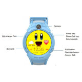 Lcd-Noten-runder Bildschirm-Baby-Kinder GPS-Uhr-Handy
