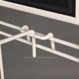 Soporte de visualización del estallido de los estantes de visualización de gancho de leva del metal para los guantes colgantes