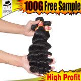 9 человеческого волоса с бразильским волос