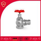 Brass/ Ferro Rosca de Ângulo Direito da Válvula de Hidrantes de Incêndio
