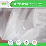 Superficie Cottonterry protector de colchón king size, prueba de ácaros del polvo, Vinyl-Free