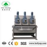 Funzionamento d'asciugamento della centrifuga del fango della pressa a elica di Actived