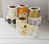 Etiqueta engomada de encargo barata de la impresión de la venta caliente