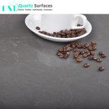 Controsoffitto grigio nebbioso elegante del quarzo di Carrara per la cucina e la stanza da bagno