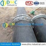 Guardabarros Marine Engineering en el dragado de tuberías de HDPE