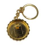 安いカスタム円形YAMAHA Keychainのかわいい中心Keychain