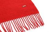 結婚式(LS-ACW-1002)のための贅沢なウールの長く赤いスカーフ