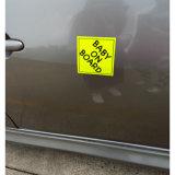 De promotie Decoratieve Sticker van de Magneet van de Auto van het Product