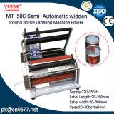 De halfautomatische Machine van de Etikettering van het Type Widden voor de Fles van de Wijn (MT-50C)