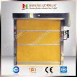 건축재료 고속 PVC 롤러 셔터 급속한 회전 문 (Hz H001)