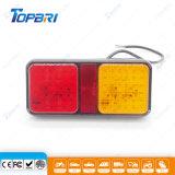Het Licht van de amber Rode 24V LEIDENE van de Vrachtwagen Staart van de Combinatie