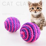 Chinesische Manufaturer neue modische Produkt-Sisal-Kugel-Katze-Großhandelsspielwaren