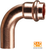 Coude convenable de rue de presse de cuivre pour l'eau potable