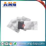 Bloqueio de RFID de alumínio da Luva do cartão de crédito