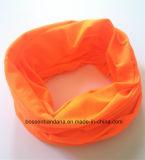 الصين مصنع إنتاج عادة برتقاليّة يصبغ بوليستر عنق [تثبيس] وشاح [هدور]