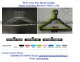 PVCよい価格の上塗を施してあるワイヤー洗濯のハンガー