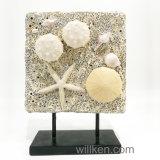 Decorazione delle stelle marine della resina del giardino della casa della statua dell'animale di mare