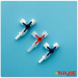 Rubinetto di chiusura a tre vie medico con o senza il tubo di Extention