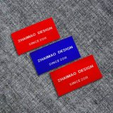 Clothing Shoes를 위한 주문 High Quality Damask Woven Label/Woven Tag