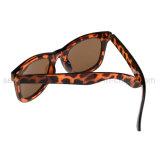 Marca Personalizada Vintage Design Cat Eye UV castanha400 Mulheres Fashion óculos de sol
