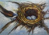 La pintura decorativa moderna nido de pájaro de la pared de lienzo para decoración de arte