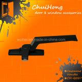 Revestimento em pó de alta qualidade personalizada Pintura de fechadura do puxador da porta com a norma ISO9001