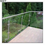 12mm, bas fer trempé clair Frameless piscine balustrade en verre d'Escrime