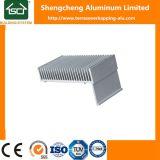 Profil d'Extrusion ronde dissipateurs en aluminium anodisé fournisseur