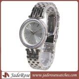 Верхней Части марки роскошь из нержавеющей стали женщин водонепроницаемые наручные часы