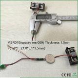 O leitor de cartão o menor com cabeça magnética Msr007 Msr008 Msr009 Msr010 Msr014 de 1mm da alta qualidade compatível da cabeça magnética