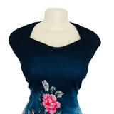 단단한 숙녀 복장을 인쇄하는 2018 새로운 여름