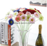 Mini fiore artificiale di seta della margherita del Gerbera di vendita calda per la decorazione &Wedding domestica