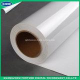 冷たいラミネーションのフィルムは、味方された自己接着PVC冷たいラミネーションのフィルム、インクジェット媒体、広告のためのステッカー材料を倍増する