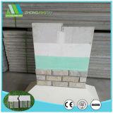 Thermal/janelas/à prova de fibra de cimento do tipo sanduíche de EPS do painel de parede para materiais de construção