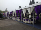 販売のためのインド人によって使用される屋外の安い結婚式のテントの装飾