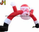 La publicité de la voûte gonflable le Père noël de Noël pour la décoration