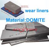 中国の最も早い工場供給の真空はバイメタルのDomiteの摩耗はさみ金、白い鉄の摩耗の版をろう付けした