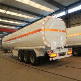 acoplado/4000 litros del buque de petróleo del Tri-Árbol 70cbm de gasolina de semi-remolque del depósito