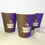 16oz de beschikbare Hete Kop van het Document van de Koffie met Enige Muur