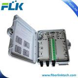 FTTX FTTH Polo de la pared de fibra óptica montados en el acceso a la caja de distribución del Gabinete de la red