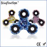 Fidget Spinner de mano de pintura en color (XH-HS-001C)